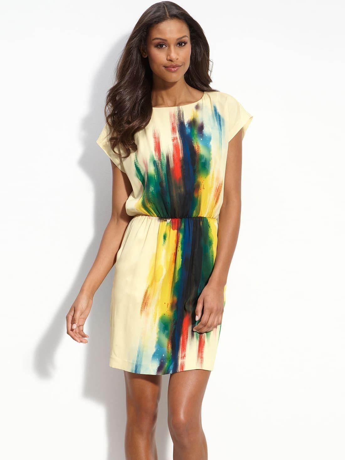 Из какой ткани лучше сшить летнее платье 24