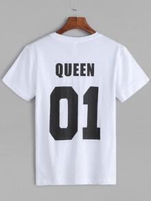 Best pairlook queen t-shirt