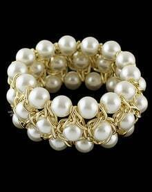 Gold Fashion Bead Bracelet