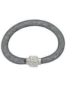 Grey With Diamond Bracelet