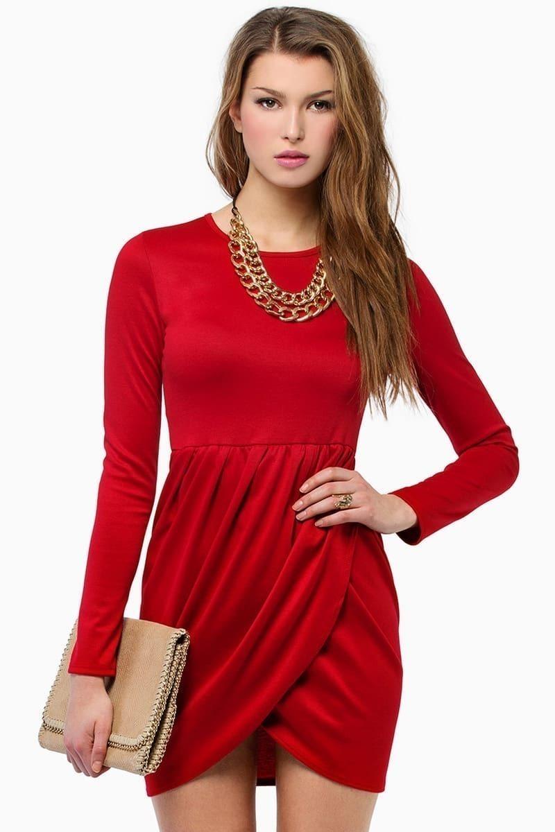 Бижутерии к красному платью