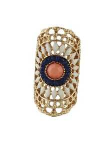 Vintage Bohemian Style Beads Big Rings for Women