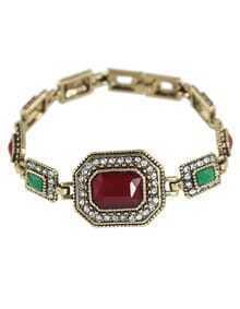 Atgold Rhinestone Custom Bracelet