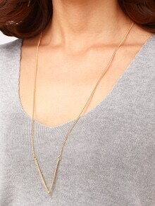 V-Shape Chest Plate Necklace