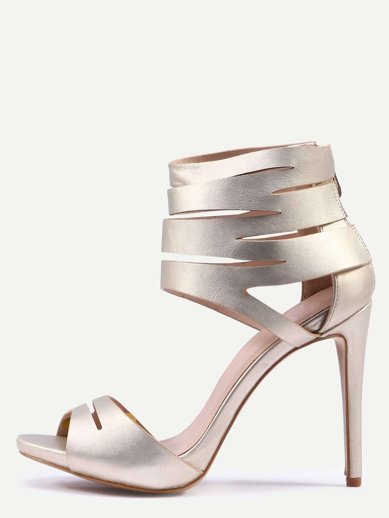 Fashion ankle cuff sandals