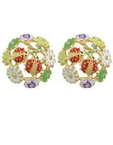 Eamel Flower Small Stud Earrings