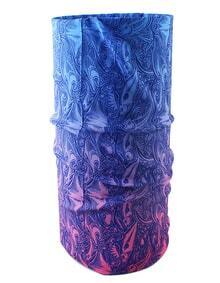 Fish Printed Elastic Neckerchief