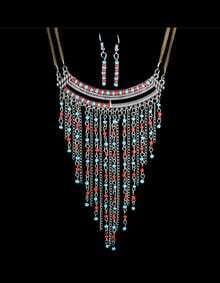 Beads Chain Chunky Jewelry Set