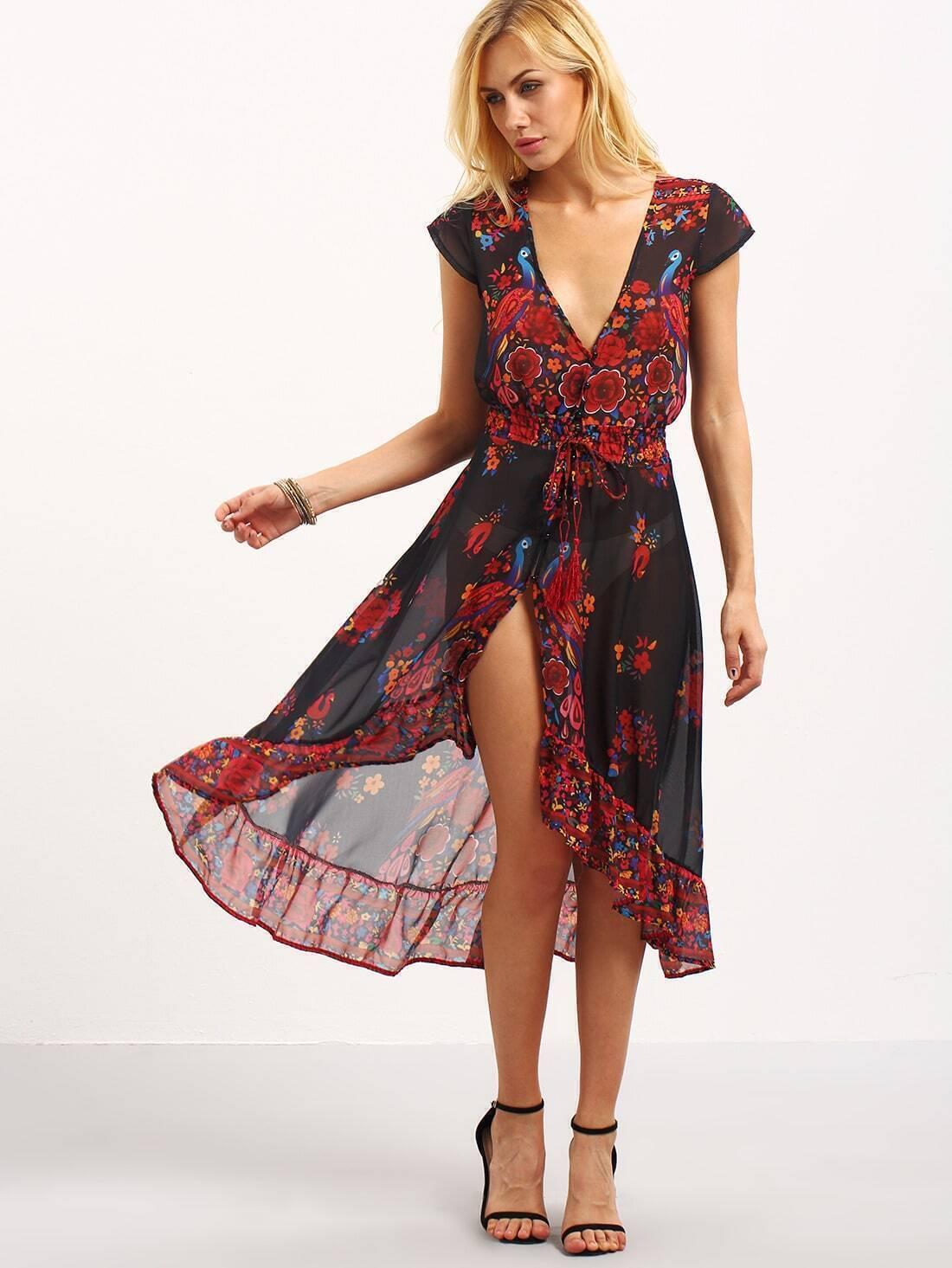 Платье шифоновое фото сшить
