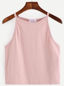 Pink Racer Cami Top