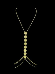 Gold New Beach Style Sexy Belly Body Chains For Ladies