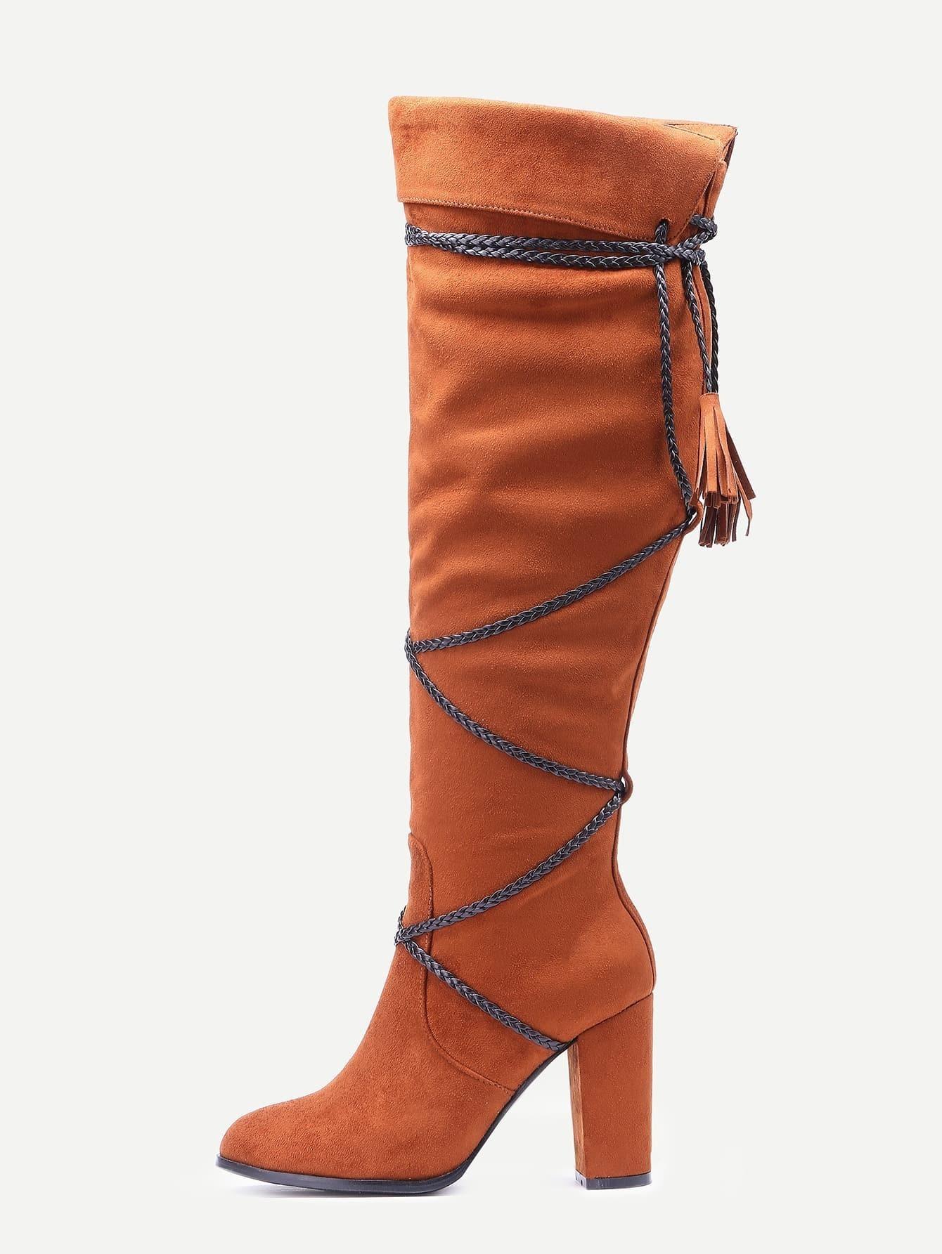 Стильные женские замшевые туфли на каблуке, платформе, танкетке, скале