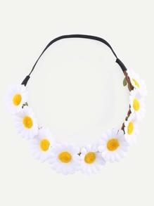 Daisy Flower Crown Headband
