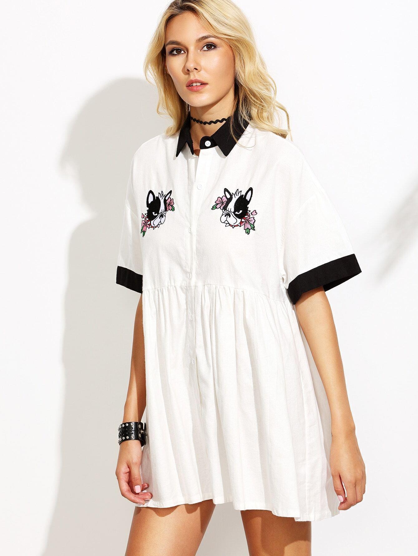 Short sleeve dress shirt fashion 84