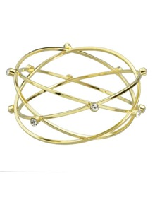 Punk Rock Gold Plated Bracelet