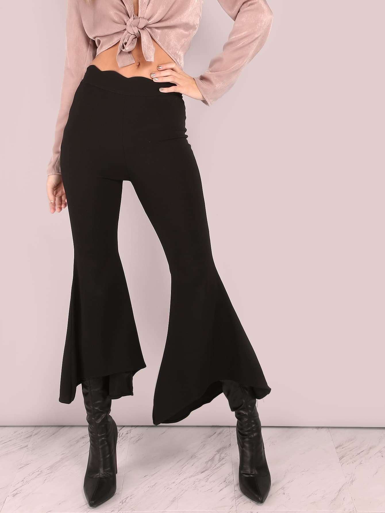 Free shipping BOTH ways on black flare stretch pants women, from our vast selection of styles. Fast delivery, and 24/7/ real-person service with a smile. Click or call