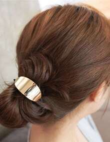 Gold Elastic Hair Band