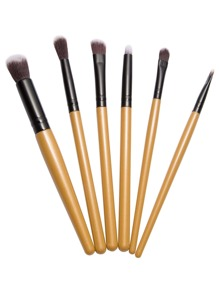 Gold Makeup Brush Set 6PCS