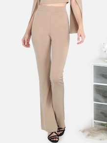 Tailored Flared Pants TAUPE