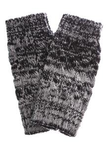 Cable Knit Short Leg Warmers