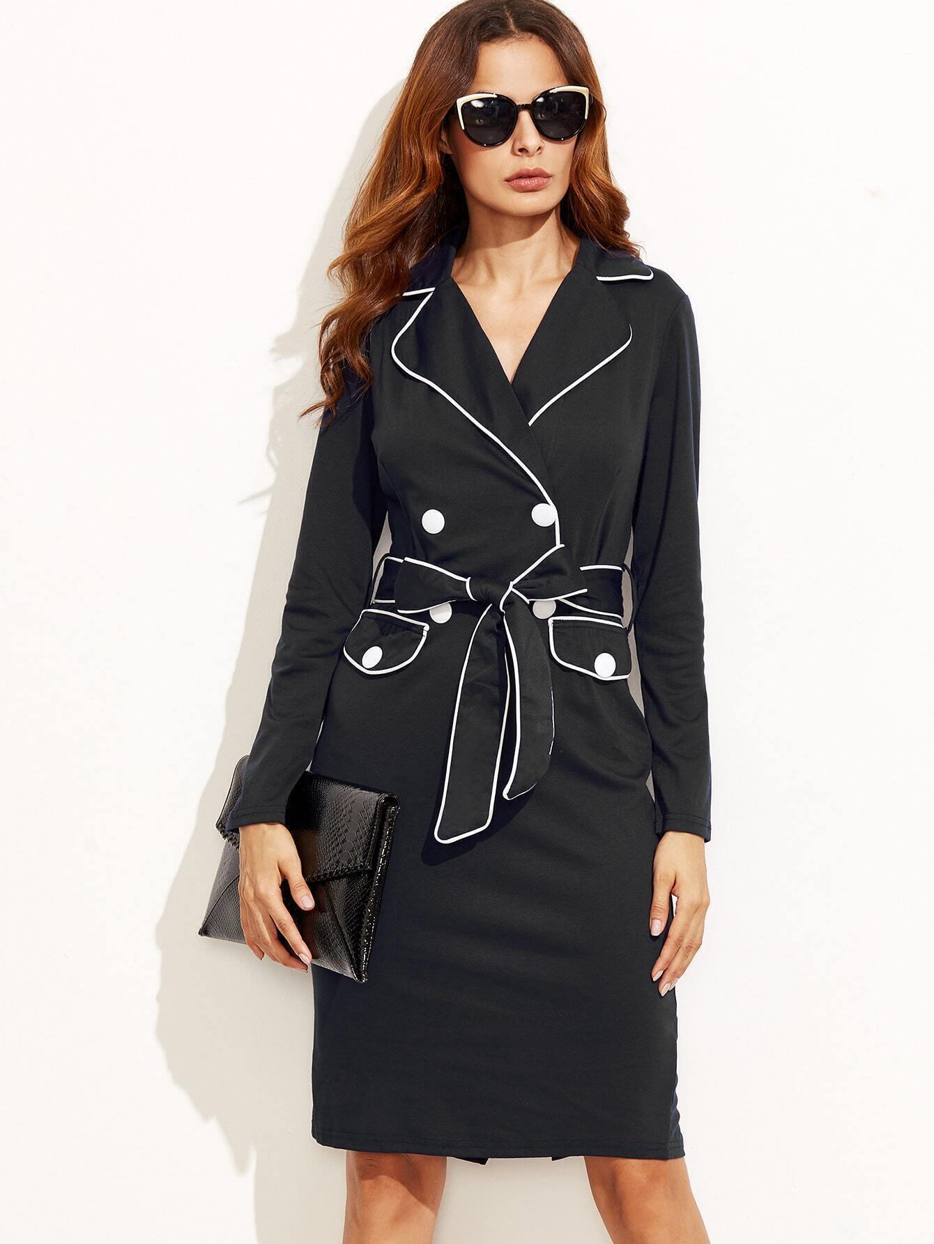 Купить Двубортное Платье