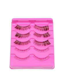 Natural Curly Long False Eyelashes