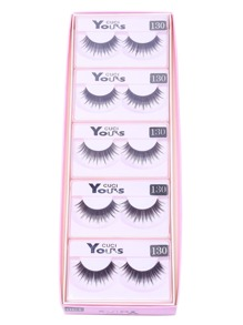 Natural False Eyelash Set Pair 10