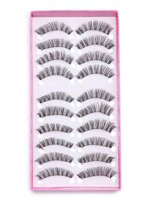 False Long Eyelash Set 10PCS
