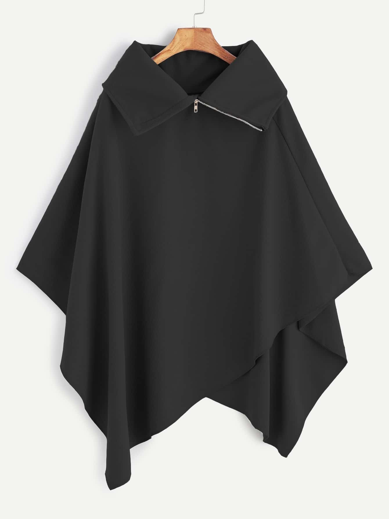 Пальто пончо: выбираем фасон и учимся шить своими руками 68