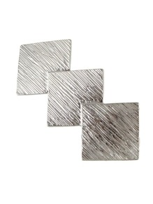 Silver Color Geometric Shape Hair Clips