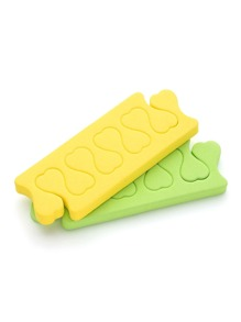 Random Color Sponge Fingers Separate Tool A Pair