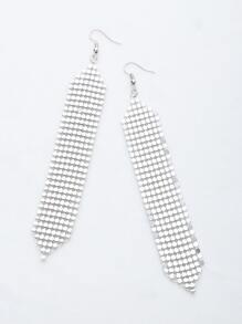 Sequin Detail Drop Earrings