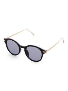 Black Frame Grey Lens Sunglasses