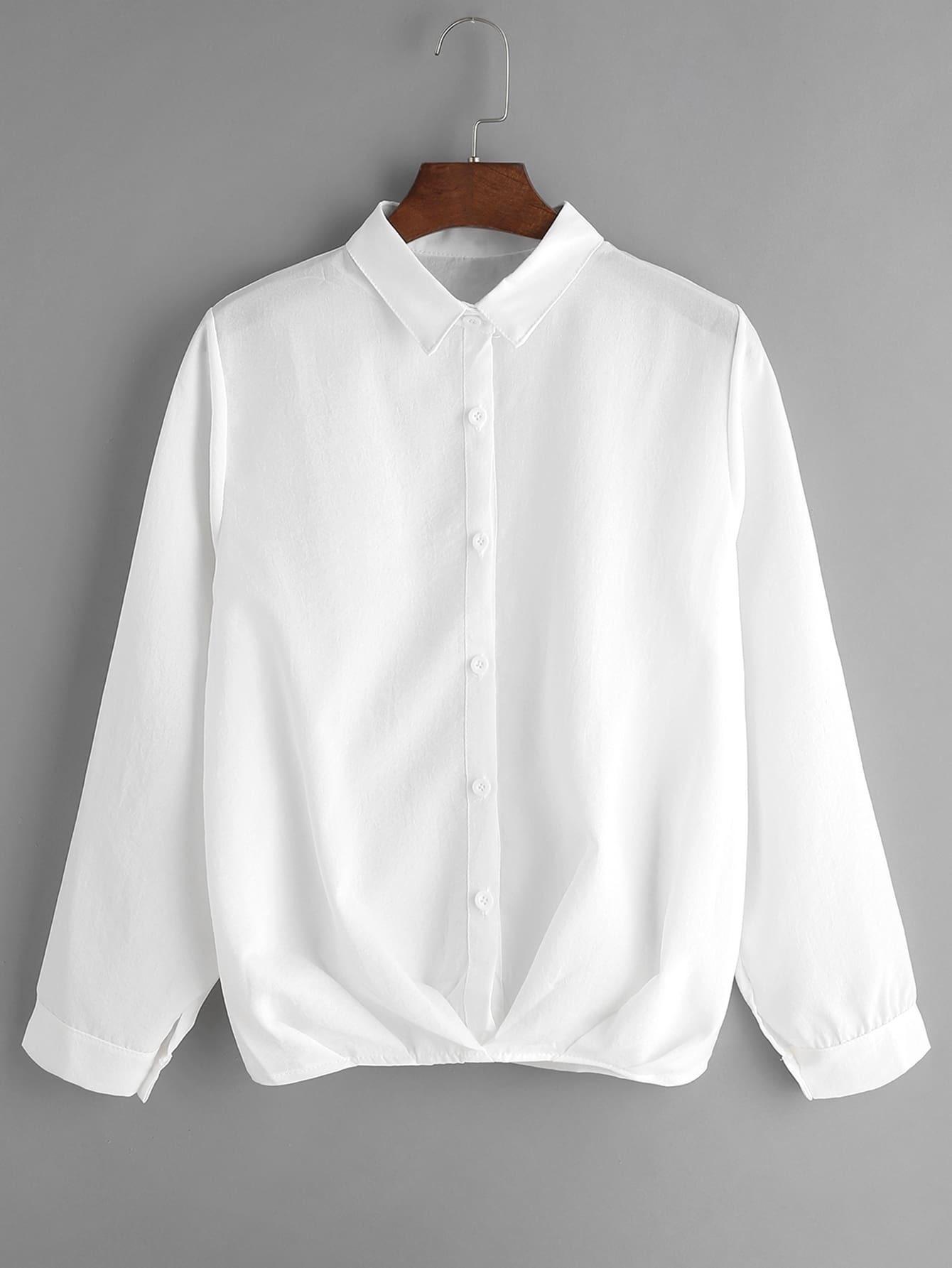 Белые Блузки Купить Недорого
