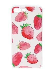 Strawberry Print iPhone 7 Plus Case