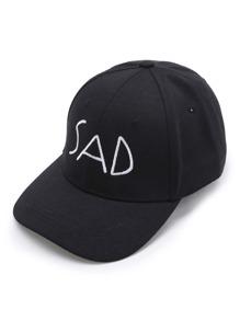 Letter Embroidery Baseball Cap
