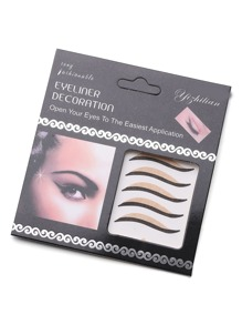 Professional Eyelid Tape With Eyeliner