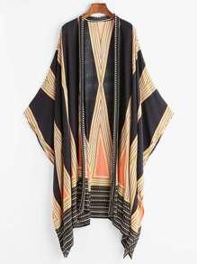 Geo Print Kimono