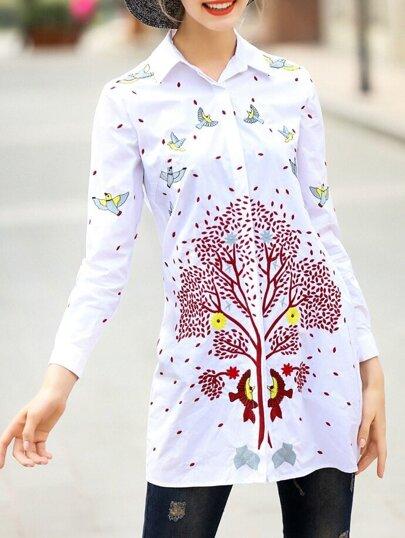 Алиэкспресс блузки с вышивкой