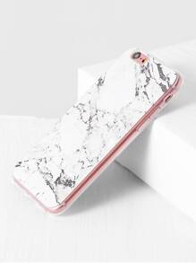 White Marble Pattern iPhone 6/6S Case