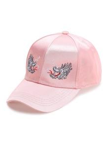 Pink Dragon Embroidery Baseball Hat