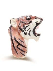 Tiger Shaped Exaggerated Ring
