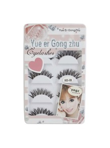 Thick False Eyelashes Set 5 Pair