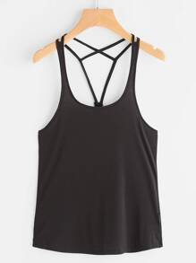 Active Strappy Back Tank Top