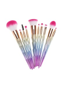 Ombre Matte Makeup Brush 10pcs