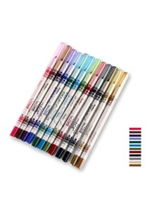 12 Color Multi-function Makeup Pen Set