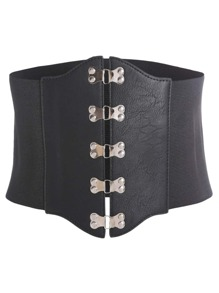 Metal Detail Croset Belt