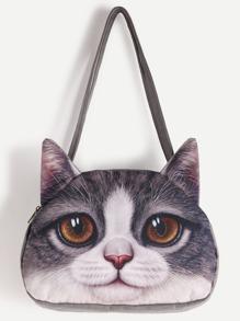 Cat Shaped Shoulder Bag