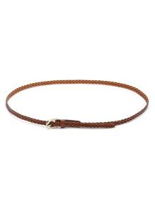 Woven Skinny Belt
