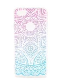 Ombre Geometric Pattern iPhone 7 Case